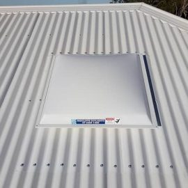 Square Skylights & Roof Hatches