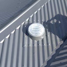 solartube skylight on roof